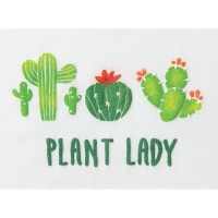Adhesive Stencil, Cactus(Finished Example)
