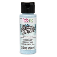 Fabric Creations Fantasy Glitter Fabric Paint, 2 oz