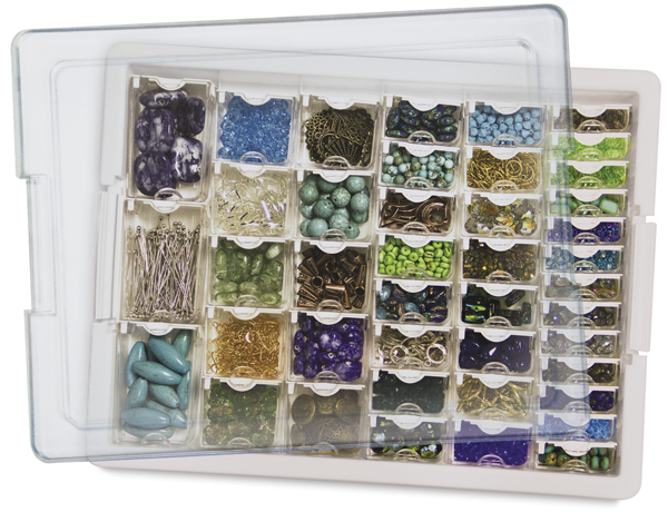 Assorted Bead Storage Tray (Beads and Findings Not Included)