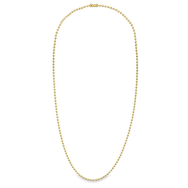 Ball Chain Necklaces, Pkg of 2, Brass