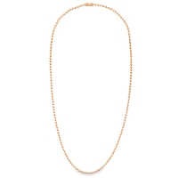 Ball Chain Necklaces, Pkg of 2, Copper
