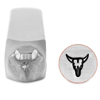 Design Stamp, Steer Skull