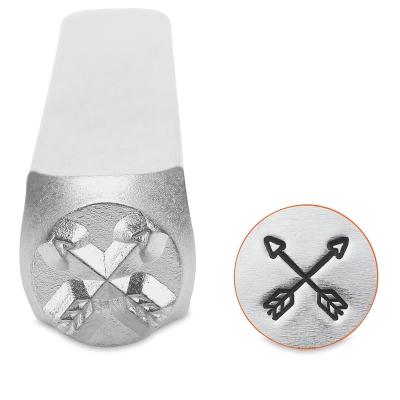 Design Stamp, Crossed Arrows