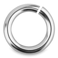 Jump Rings, Silver, Pkg of 100
