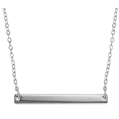 Personal Impressions Necklace Kit, Large Rectangle