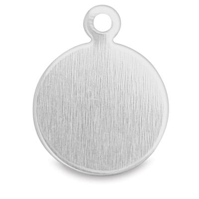 """Circle Tag, Aluminum, 3/8"""""""