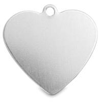 Heart Tag, Aluminum