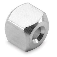 """3-D Cube Bead, Aluminum, 1/4"""""""
