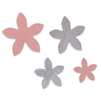 Star, Jasmine, Set of 4(Example of cut leather)