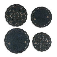 Flower Concho, Set of 4