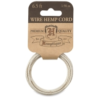 Hemp Wire Cord, Natural