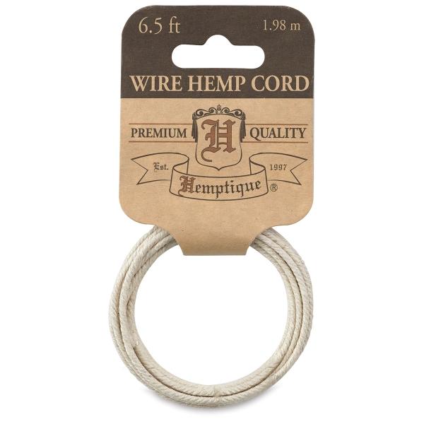 Hemp Wire Cord, Natural