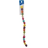 Semi-Precious Skull Beads, 10 mmAssorted Colors