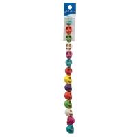 Semi-Precious Skull Beads, 13 mmAssorted Colors