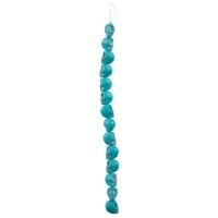 Semi-Precious Skull Beads, 13 mmTurquoise