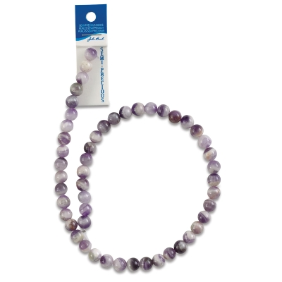 Dogtooth Amethyst, 8 mm