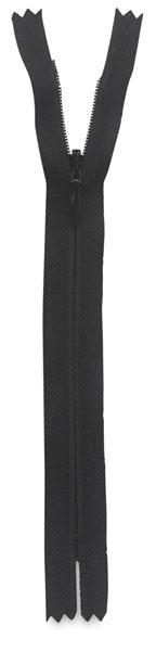 Black Invisible Zipper