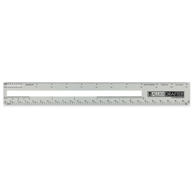 Alumidrafter Drafting and Measuring Tool (Front)