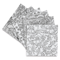 Yuzen Kimono Designs, 24 Sheets