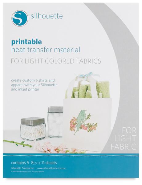 Heat Transfer Material for Light Fabrics