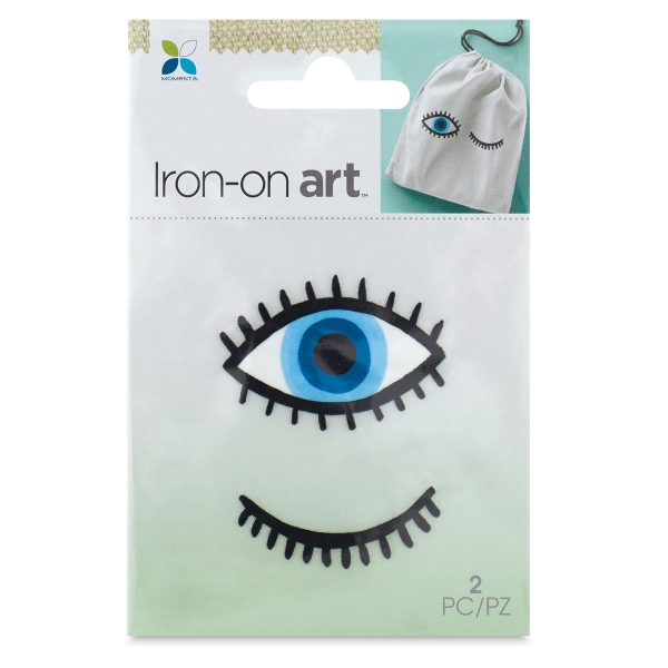 Four Color Iron-On Art, Eyes