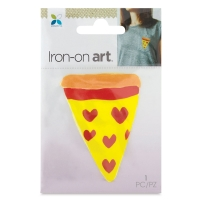 Four Color Iron-On Art, Pizza