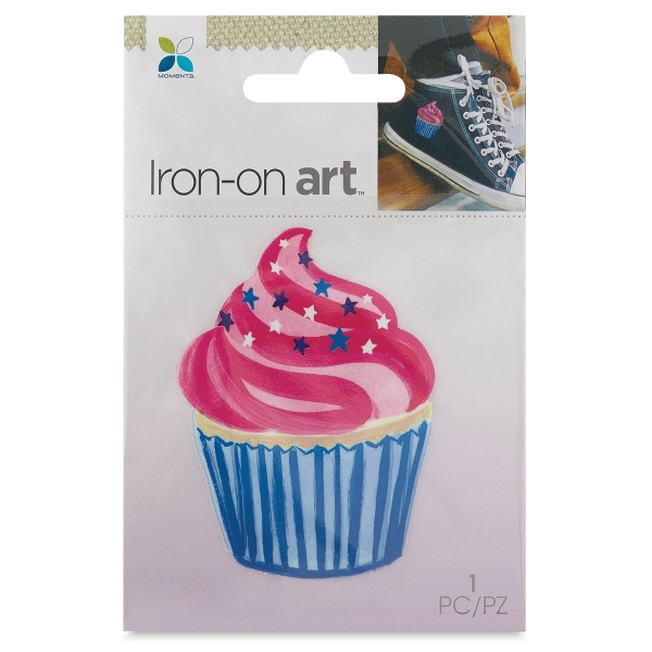Four Color Iron-On Art, Cupcake