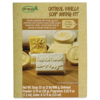 Oatmeal Vanilla Soap Kit