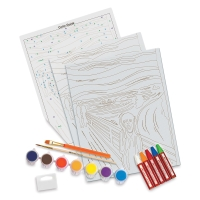 Deluxe Paint by Number Kit, The Scream