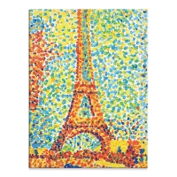Paint by Number Museum Series, Eiffel Tower (Finished Example)