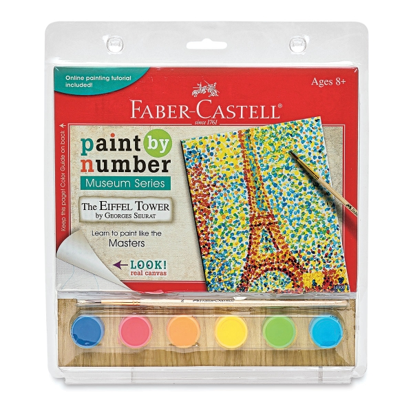 Paint by Number Museum Series, Eiffel Tower