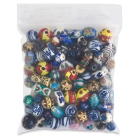 Porcelain Bead Assortment, 100 Pieces