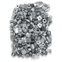 Silver Metallic Bead Mix