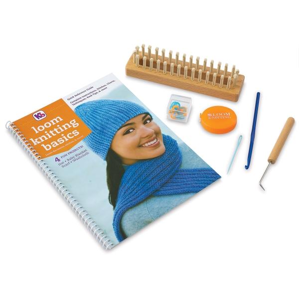 Kb Loom Knitting Basics Kit Blick Art Materials