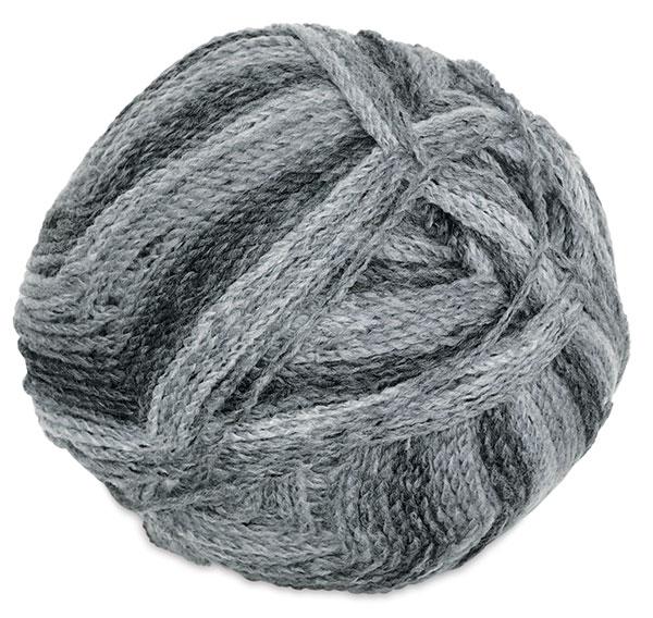 Marble Chunky Yarn, Charcoal