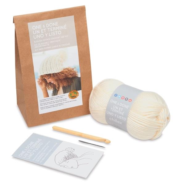 Slouch Potato Crochet Hat