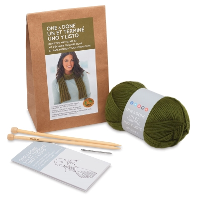 Olive You Knit Scarf