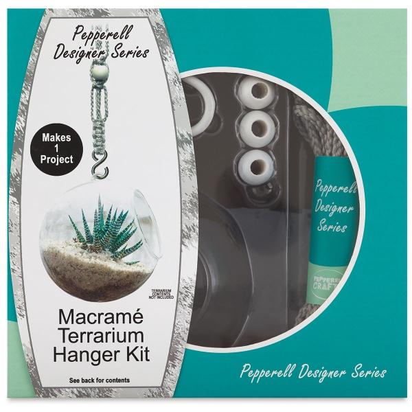 Macram&eqcute; Plant Hanger Kit, Terrarium