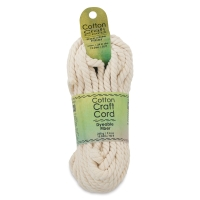 Cotton Macramé Cord, 6 mm
