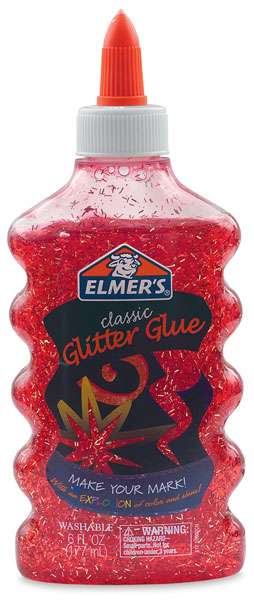 Elmer's Glitter Glue, Red