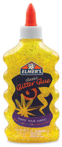 Elmer's Glitter Glue, Yellow