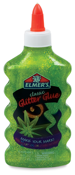 Elmer's Glitter Glue, Green