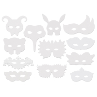 Shakespeare Masks, Pkg of 24
