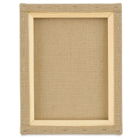 Stretched Burlap Canvas