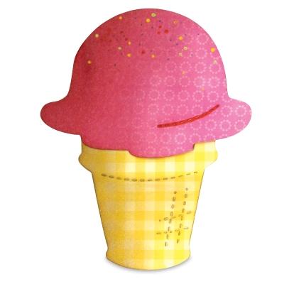 Bigz Die, Ice Cream Cone/Scoop