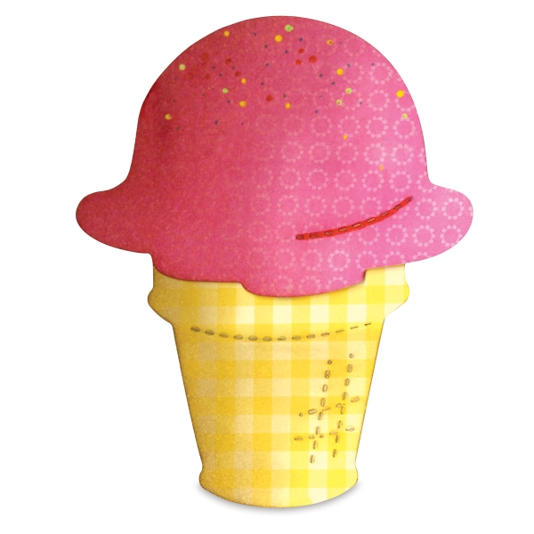 Bigz Die, Ice Cream Cone/Scoop