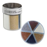 Glitter Shaker, Microbeads, Metallic Colors