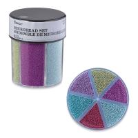 Glitter Shaker, Microbeads, Basic Colors
