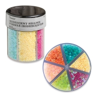 Glitter Shaker, Hearts and Stars Glitter, Bright Colors