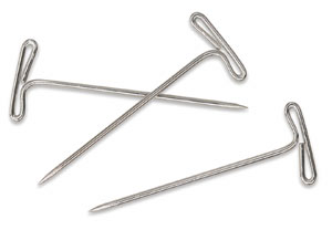"""T"" Pins, Box of 35"